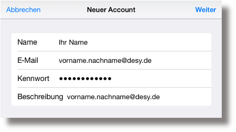 DESY - IT - Zimbra & Mobile Devices
